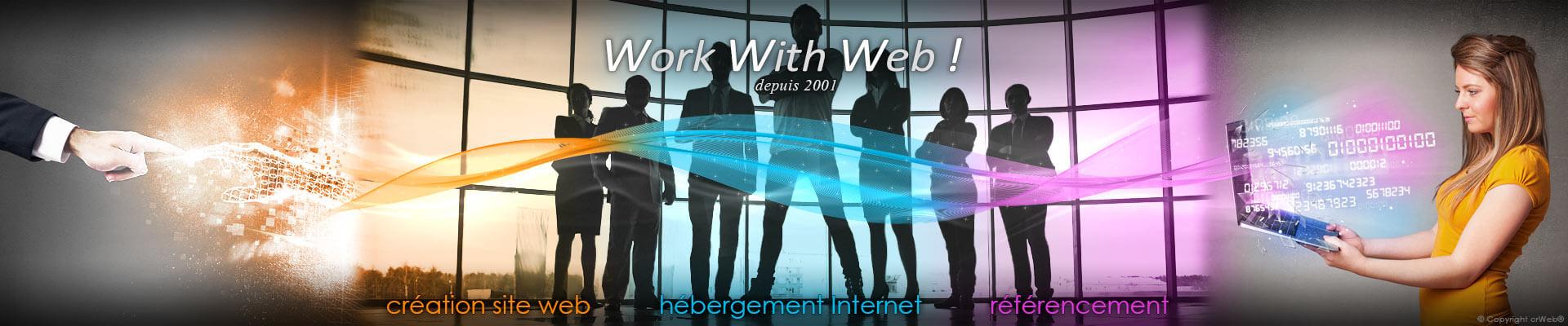 Conception site web, Hébergement Internet et Référencement professionnel depuis 2001.